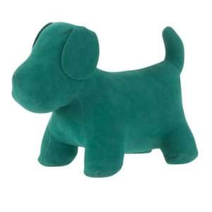 Dog Decoratiune, Catifea, Verde