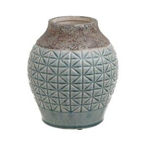 Elodia Vas decorativ, Ceramica, Verde