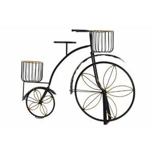 Enzo Suport ghiveci bicicleta, Metal, Negru