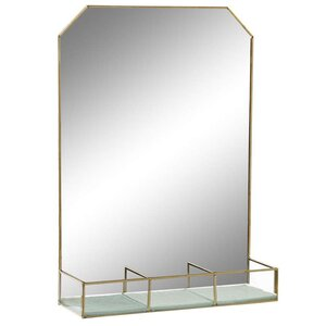 Ernny Raft perete oglinda, Metal, Verde