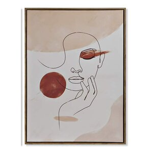 Eyes Tablou, Canvas, Bej