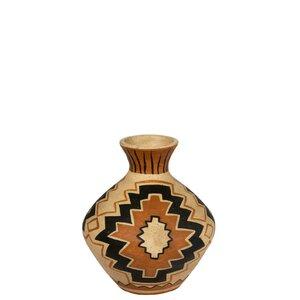 Faux Vaza decorativa, Teracota, Multicolor