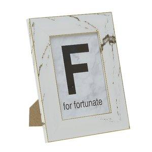 Fortunate Rama Foto mica, Plastic, Alb