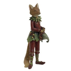 Foxy Decoratiune vulpe, Polirasina, Maro