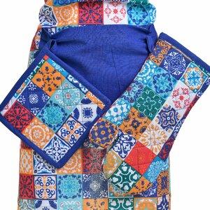 Fun Set sort bucatarie 3 piese, Textil, Multicolor