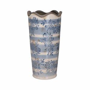 Georgia Vaza medie, Ceramica, Albastru