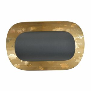 Goldy Aplica perete, Metal, Negru
