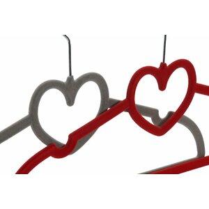 Heart Set 2 umerase, Metal, Multicolor