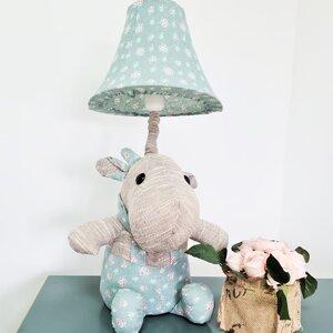 Hipo Veioza Hipopotam, Textil, Albastru