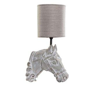 Horse Aplica perete decorative cal, Rasina, Bej