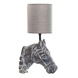 Horse Aplica perete decorative cal, Rasina, Gri