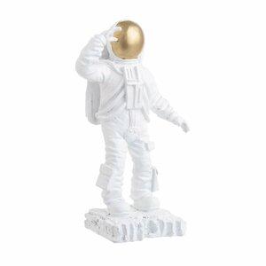 Hype Deoratiune astronaut, Polirasina, Alb