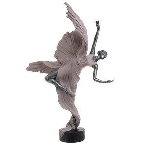 Ivy Statueta Balerina, Polirasina, Roz