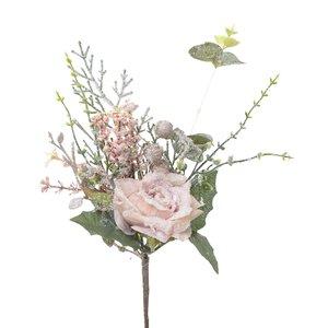 Janice Floare artificiala, Plastic, Roz