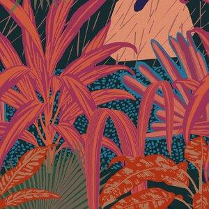 Jardin Imaginario Set 3 role tapet, Netesut, Multicolor