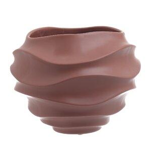Jasmine Vaza mare, Ceramica, Maro