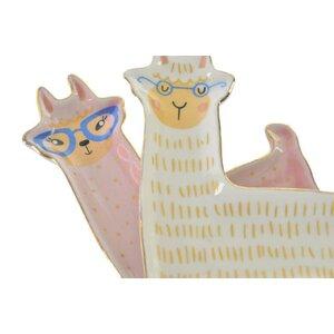 Lama Tava, Ceramica, Alb