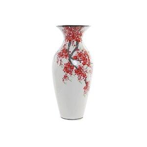 Lara Vaza flori cires, MDF, Alb