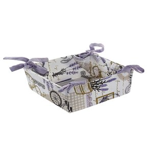 Lavender Cos paine, Bumbac, Mov