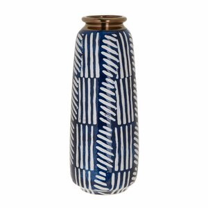 Leah Vaza, Ceramica, Albastru