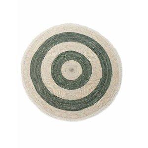 Luigi Covor rotund, Textil, Verde