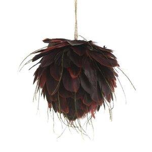 Maggy Decoratiune suspendabila, Textil, Rosu