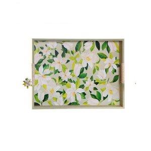 Magnollia Tava servire cu manere, MDF, Multicolor