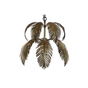 Marcesa Lustra frunze, Metal, Auriu