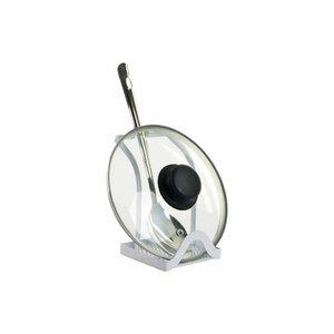 Marcomit Suport lingura, Metal, Alb