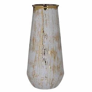 Mega Vaza, Ceramica, Alb