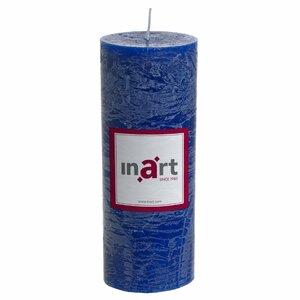 Pillar Lumanare Mare, Parafina, Albastru