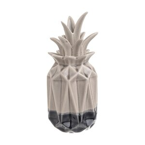 Piny Decoratiune ananas, Ceramica, Crem
