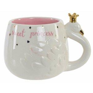 Princess Cana Lebada, Ceramica, Alb