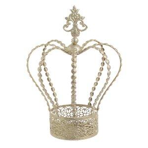 Queen Decoratiune Coroana mare, Metal, Auriu
