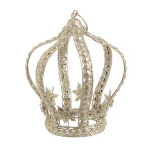 Queen Decoratiune Coroana mica, Metal, Auriu