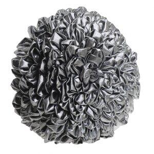 Rosalie Perna decorativa, Textil, Argintiu