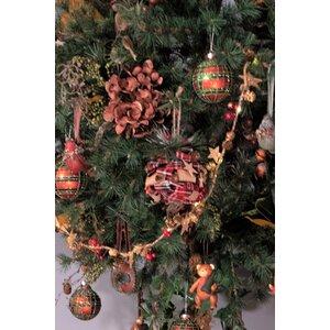 Saculeti Set 4 decoratiunii suspendabile, Textil, Rosu