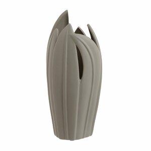 Samira Vaza decorativa, Ceramica, Gri
