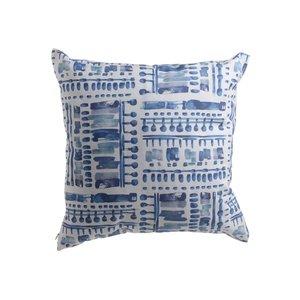 Sema Perma decorativa, Textil, Albastru