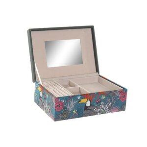Semosa Cutie bijuterii, MDF, Multicolor