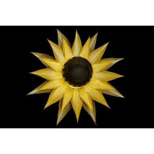 Sole Aplica perete soare, Metal, Auriu