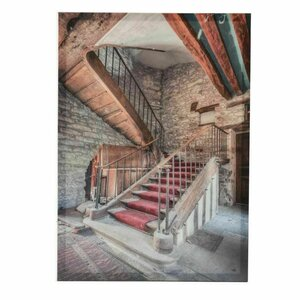 Stairs Tablou, Canvas, Multicolor