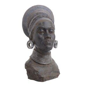 Tama Statueta femeie, Polirasina, Negru
