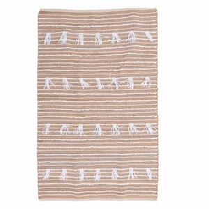 Tassel Covor, Textil, Bej