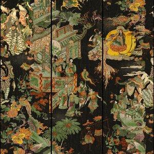 The Oriental Tale Set 3 role tapet, Netesut, Multicolor
