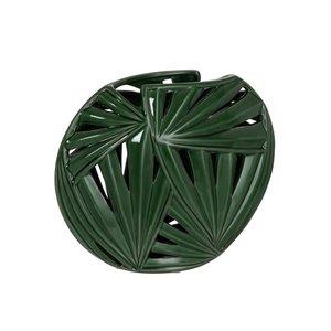 Tropics Vaza mica, Ceramica, Verde