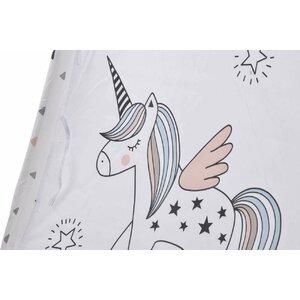 Unicorn Cort copii, Bumbac, Multicolor
