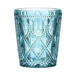Valero Set 6 pahare whiskey, Sticla, Albastru