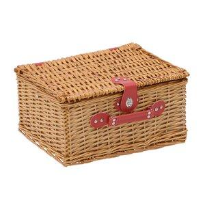 Will Cos picnic 4 persoane, Lemn, Maro