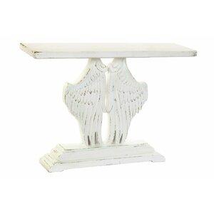 Wings Consola, Lemn, Alb